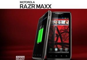 Motorola представила три смартфона Droid Razr на фоне ожидания презентации от Apple