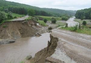На Прикарпатье и Буковине продолжается ликвидация последствий ливней