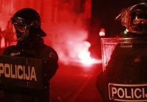 В ходе уличных протестов в Словении задержаны десятки человек