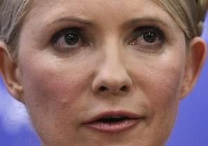 Тимошенко обвинила Януковича в ущемлении прав оппозиции и уничтожении свободы слова