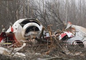 Польша намерена обнародовать записи разговоров диспетчеров перед крушением Ту-154
