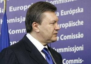 Янукович: ЕС заинтересован в улучшении отношений между Киевом и Москвой