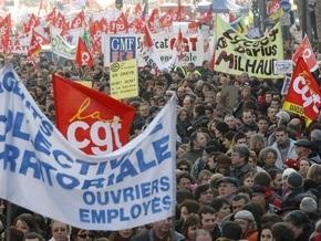 Во Франции на забастовку вышли около 2,5 миллионов человек