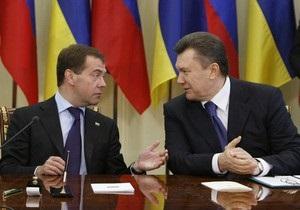 Медведев и Янукович поздравили друг друга с ратификацией соглашения по флоту