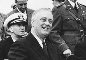 В университете США обнаружена редкая видеозапись с президентом Рузвельтом
