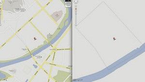 Google заполнил  белые пятна  на карте Северной Кореи