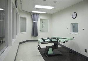 В США отложили несколько казней из-за дефицита препарата для смертельных инъекций