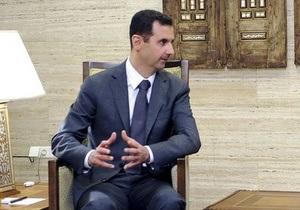 Асад заявил, что конфликт в Сирии угрожает Ирану и Хизбалле