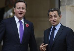 Саркози и Кэмерон объяснили, зачем заключили договор о военном сотрудничестве