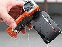 Японцы создали водонепроницаемую видеокамеру