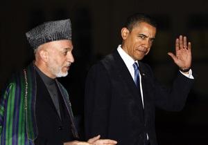 Обама прилетел в Кабул