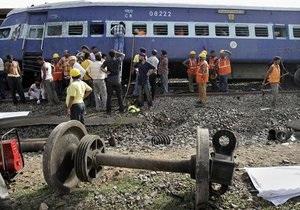 Жертвами железнодорожной катастрофы в Индии стали 40 человек
