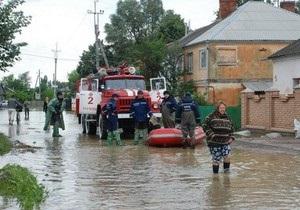 Стихия в Днепропетровской области: погиб человек, подтоплены десятки домов