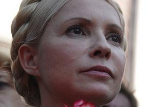 Тимошенко поздравила в Twitter на английском португальских социал-демократов