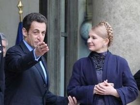 Саркози: Тимошенко - тот, кто нужен Украине во время кризиса