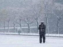Снегопады в Японии парализовали Токио