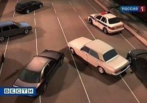 Московских милиционеров, создавших живой щит из автомобилистов, привлекли к ответственности