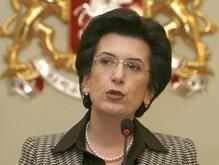 Бурджанадзе заявила о создании новой оппозиционной партии
