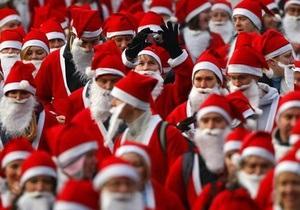 В Рио-де-Жанейро открылись курсы Дедов Морозов