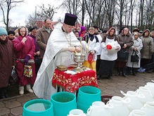 Сегодня в Украине празднуют Крещение