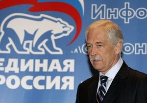Грызлов пообещал разобраться с членом Единой России, мечтающим  давить критиков власти танками