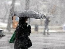 Завтра по всей Украине пойдет мокрый снег