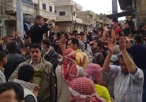 Власти Сирии: Жертвами волнений стали 70 мирных граждан и 78 силовиков