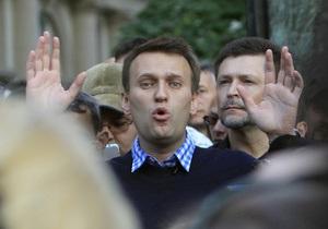 Навальный заявил, что митинги оппозиции пройдут независимо от решения властей