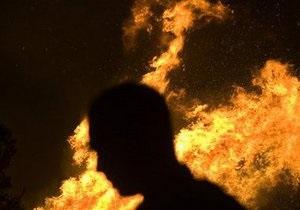 Киевлянин погиб при пожаре в день своего рождения