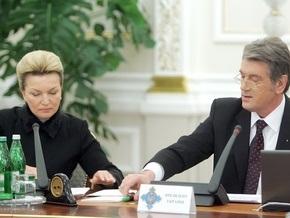В СНБО заявили, что Ющенко не подписывал указ об отставке Богатыревой