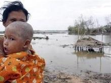 Красный крест насчитал 128 тысяч жертв циклона Наргис