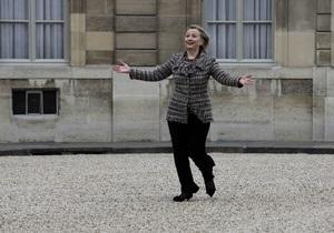 Хиллари Клинтон установила рекорд по километражу рабочих поездок