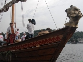 У берегов Херсона затонула казацкая чайка Спас