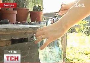 В Донецке промывают водопровод из-за обнаруженных в нем червей