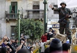 Египтян призвали добровольно сдать оружие