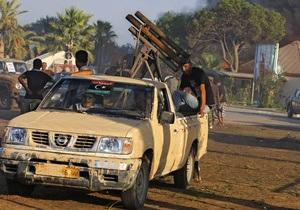 В Триполи бойцы ПНС открыли огонь по сторонникам Каддафи