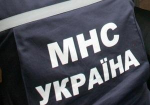 В Киеве спасли провалившихся под лед детей