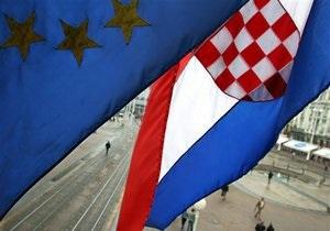 Путь Хорватии в Евросоюз