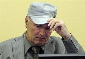 Ратко Младича перевели в гаагскую больницу