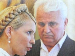 Кравчук: Экономический кризис в Украине предотвратила Тимошенко