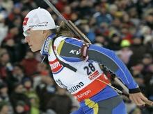 Биатлон: Украинка завоевывает новую медаль