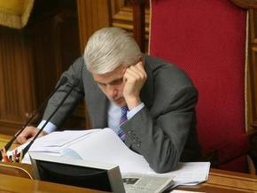 Литвин пока не намерен обращаться в прокуратуру относительно Яценюка