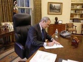 Буш проголосовал за Маккейна