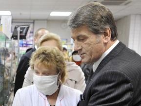 Ющенко ветировал выделение 1 млрд гривен на борьбу с гриппом