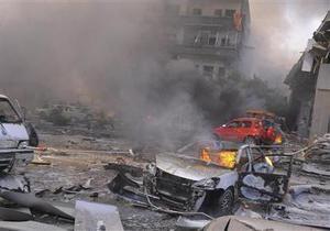 Рядом с российским посольством в Дамаске прогремел мощный взрыв, десятки погибших и раненых