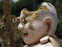 В Афганистане нашли гигантскую статую Будды