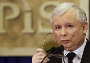 Ярослав Качиньский заявляет, что в смоленской авиакатастрофе были выжившие