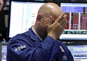 Американские рынки значительно снизились на негативных сообщениях из Европы
