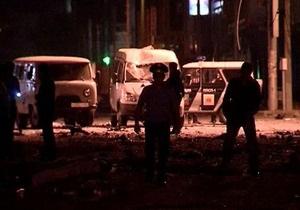 Мощность прогремевших в Махачкале взрывов составила 40 кг тротила