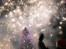 Новогодняя ночь в Украине будет морозной и бесснежной